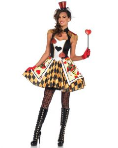 Queen Of Hearts Costumes Blossom Costumes